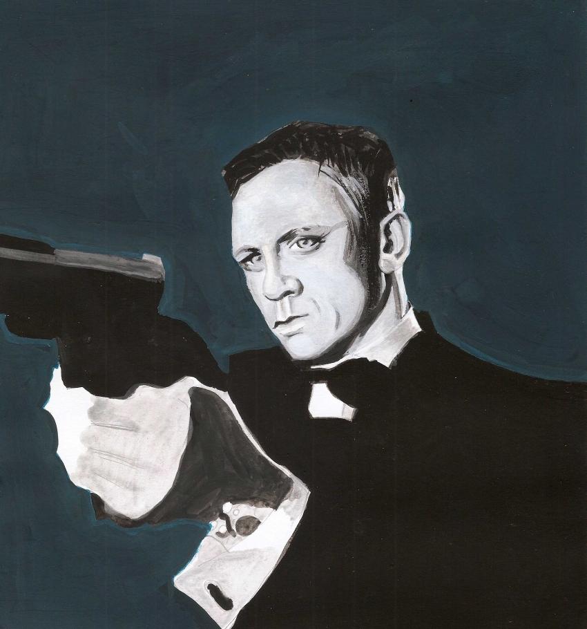 Daniel Craig by plissken999